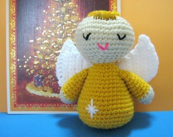 Angel Crochet Pattern Amigurumi Doll Crochet Pattern PDF Instant Download Angel Nova