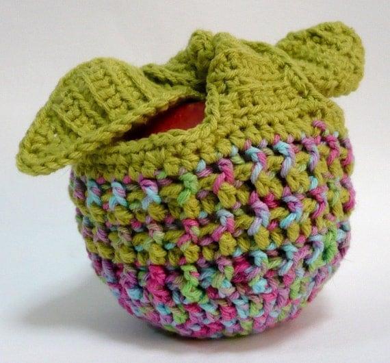 Apple Cozy Crochet Pattern Fruit Jacket Crochet Pattern PDF Instant Download