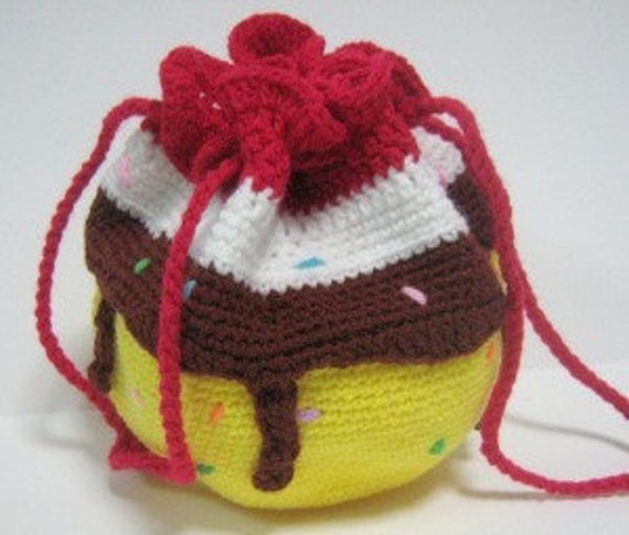 Bag Crochet Pattern Drawstring Purse Crochet Pattern PDF