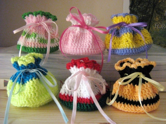 Pouch Crochet Pattern Mini Pouches Small Bag Crochet Pattern PDF ...