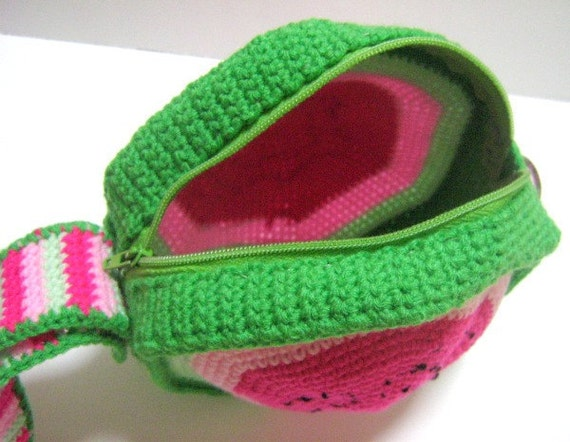 Bag Crochet Pattern Wristlet Crochet Pattern Purse Crochet Pattern PDF ...