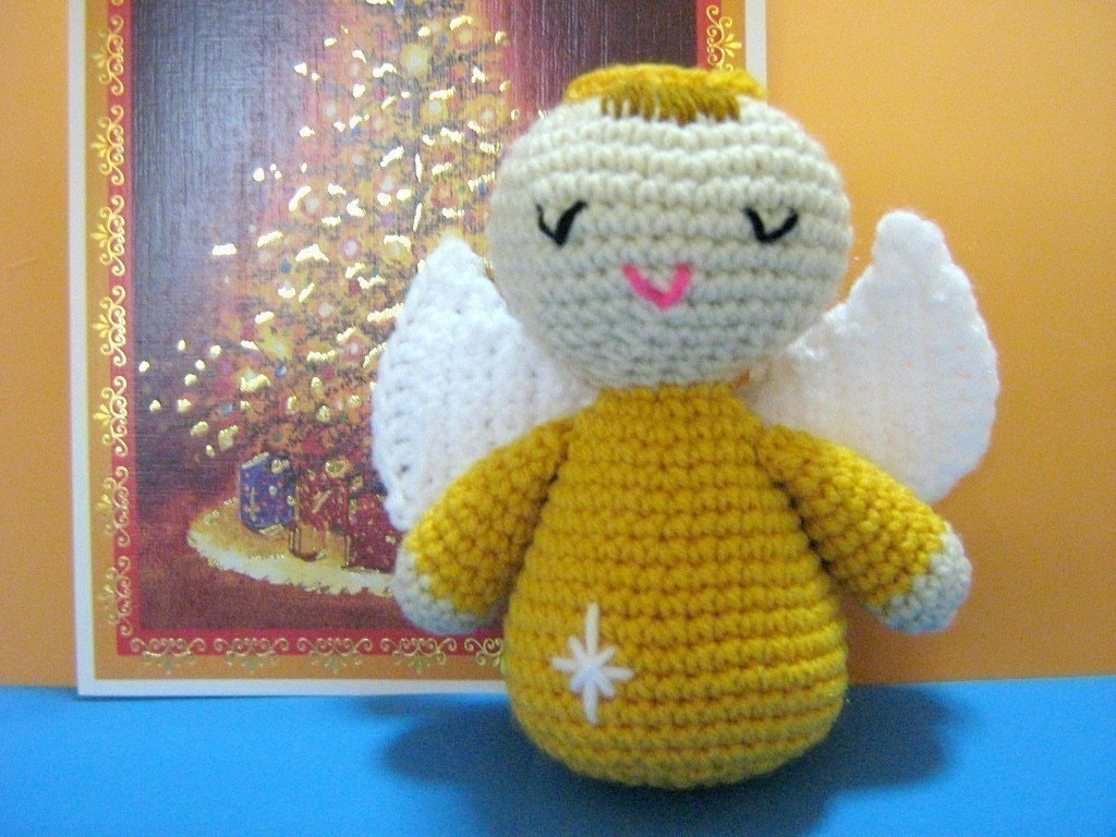 Angel Crochet Pattern Amigurumi Doll Crochet Pattern PDF