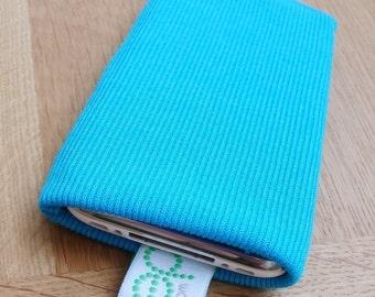iphone sock - sky blue