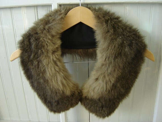 Re-Constructed Vintage Fur Collar