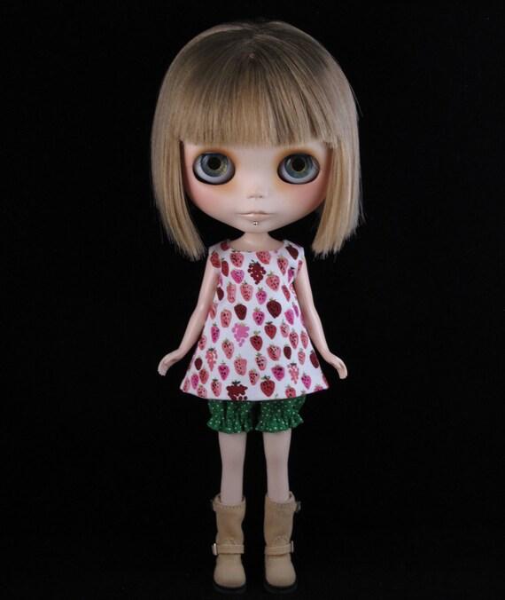 Strawberry fields dress set for Blythe