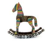 Carousel Horse - Original Mixed Media Assemblage