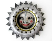 Carnival Clown - Original MIXED MEDIA Assemblage