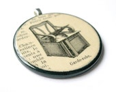 Garde-robe - PENDANT - 1923 French Dictionary Illustration - Free Shipping