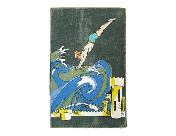 Summer Fantasy - Original COLLAGE on Book Cover