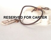 RESERVED FOR CARTER Asian Script Bracelet