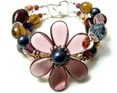Clematis Double Strand Bracelet
