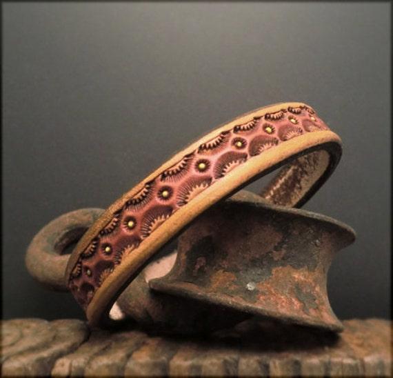 B1220 Single Leather Bangle