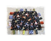 CLEARANCE SALE Sports Lovey Blanket with Ribbons