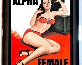 ALPHA FEMALE Cigarette Case Wallet Business Card Case