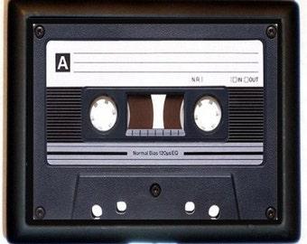 Cassette Tape Cigarette Case Wallet Business Card Holder MP3 Holder Retro Andy Warhol Pop Art 1980's Eighties Flashback Hipster