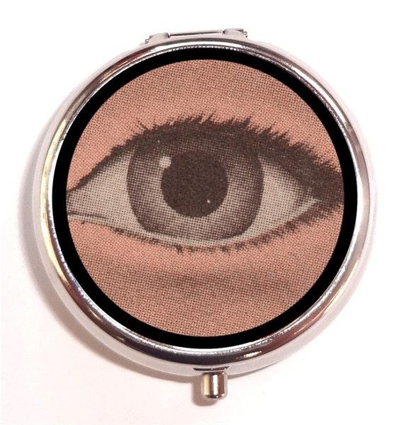 weird eye pill box pillbox case trinket box by sweetheartsinner. Black Bedroom Furniture Sets. Home Design Ideas