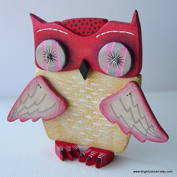 Owl - Reddy The First - Interactive Art Object