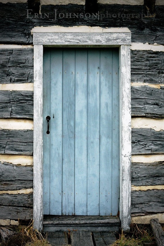 Like this item? & rustic home decor door photography blue decor rustic decor Pezcame.Com