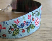 BOGO SALE - Farbenmix Ribbon Bracelet - Love Birds