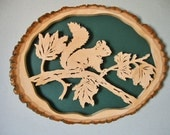 Made just for Dorothy --Squirrel in Maple Tree