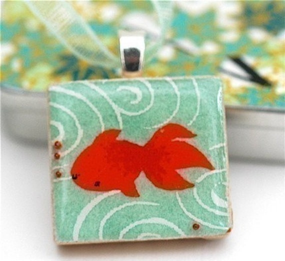 How To- Make a Non Toxic Original Scrabble Tile Pendant Jewelry Tutorial w. EXCLUSIVE Free Images