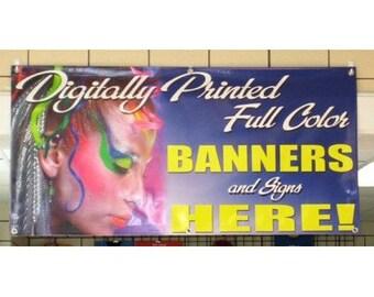Full Color Vinyl Banner