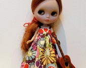 Hippie Dress for Blythe Doll