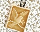 Bird of Peace - Handmade Tile Ornament