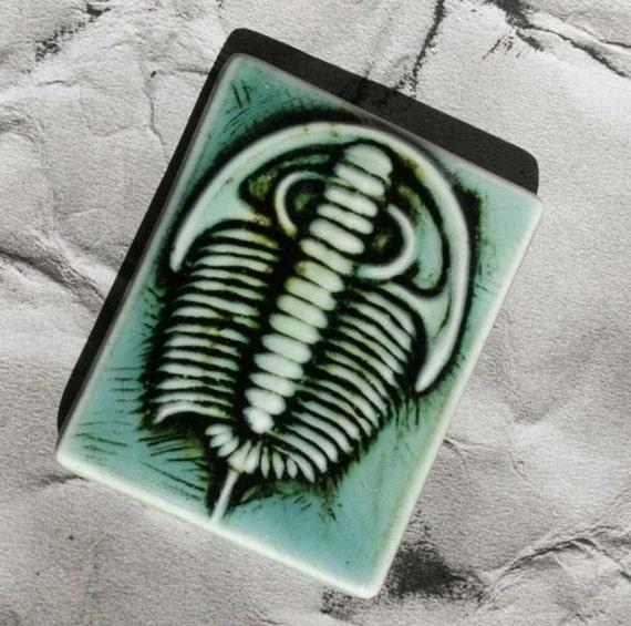 Trilobite Tile Magnet - homegrown NYS variey