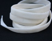 Vanilla Cream Velvet Ribbon, 3/8""