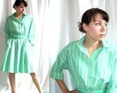 Minty Green Vintage Leisure Dress - Size 8