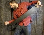 Men's Lumberjack Flannel Shirt RED and BLACK PLAID check