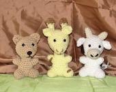 Cute Critterz Amigurumi Crochet Pattern