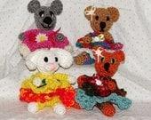 Lil Pretties-- PDF Crochet Pattern
