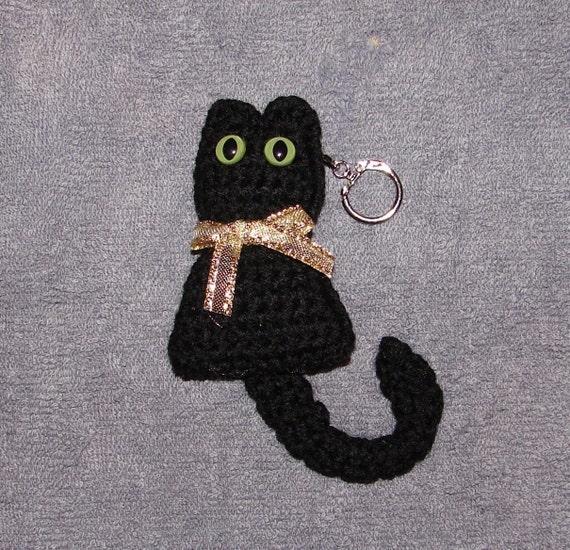 Crochet Patterns Key : Kitty Key Chain Crochet Pattern PDF