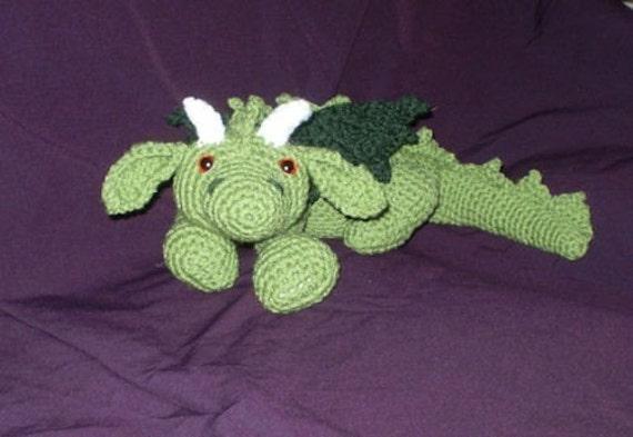 Ash the Dragon Amigurumi - Crochet Pattern