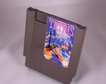 VINTAGE Nintendo Tetris Cartridge Clock (1985)