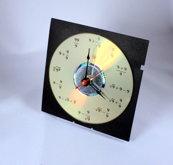 Math Equation Clock - The Clock of 9s