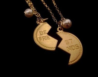 Inspired by Friendship Necklace in Gold
