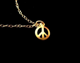 A Bit of Peace Necklace