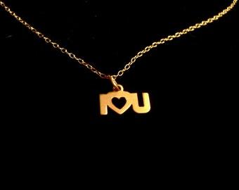 I Heart U Necklace