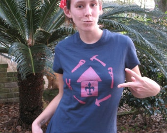 Rebuild Louisiana T-Shirt Womens Shirt PRE-ORDER / Profits for rebuilding flooded Louisiana