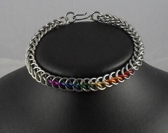 Kristupas - Bracelet: Embedded Rainbow