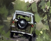 Art Print Car International Scout Camp Hunt Rugged - International Scout Rambling by David Lloyd