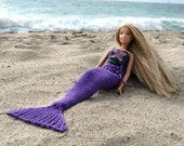 Pattern, Knit Mermaid Tail for Dolls