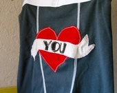 Small Skivvies - I Heart You - Adult Pair