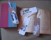 READING IS SOO SEXY mini collage bookmarks