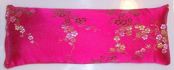 Fuchsia Cherry Blossom Lavender Eye Pillow