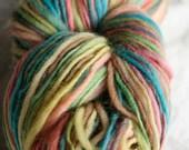 Handspun Hand Dyed Yarn - frosting