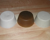 3  Goat Milk Shaving Soaps-All Natural-Hand Made-Buy 5 & Get 1 Free